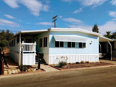 Ojai Mobile Home For Sale: 1225 S Rice Road #64