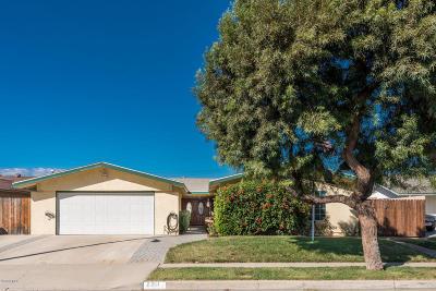 Camarillo Single Family Home For Sale: 2211 Wilcox Street