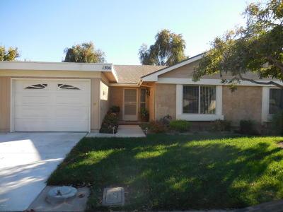 Camarillo Single Family Home Active Under Contract: 1306 Village 1