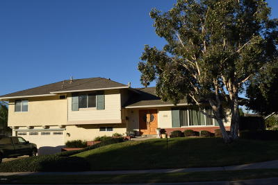 Ventura County Single Family Home Active Under Contract: 1491 Calle La Cumbre