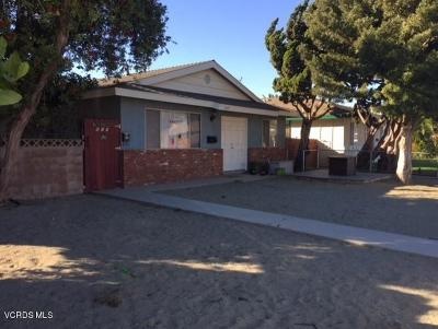 Oxnard Multi Family Home For Sale: 807 M Street