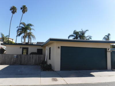 Ventura CA Single Family Home Sold: $870,000