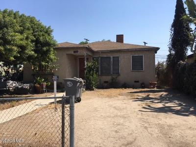 Oxnard Single Family Home Active Under Contract: 118 S Marquita Street