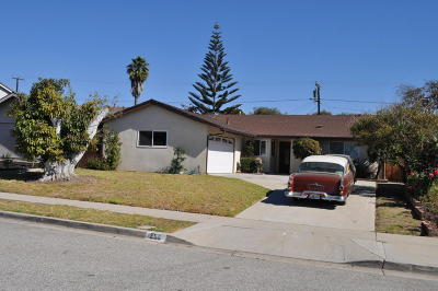 Ventura Single Family Home For Sale: 252 Brentwood Avenue