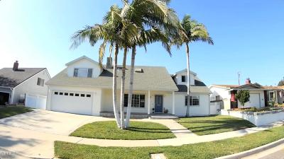 Ventura Single Family Home For Sale: 4425 Pomona Street