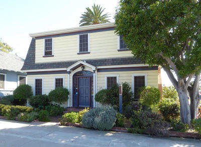 Ventura Single Family Home For Sale: 608 E Thompson Boulevard