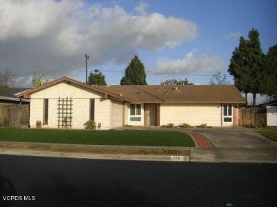 Camarillo Rental For Rent: 1124 Palmer Avenue