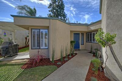 Ventura Single Family Home For Sale: 8034 Denver Street