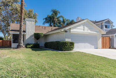 Camarillo Single Family Home Active Under Contract: 5216 Lynnwood Drive