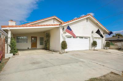 Ventura Single Family Home For Sale: 1244 Amapola Avenue