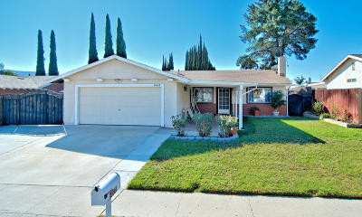 Moorpark Single Family Home Active Under Contract: 14660 Stanford Street #93021