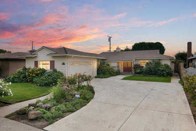 Oxnard Single Family Home For Sale: 1030 Devonshire Drive
