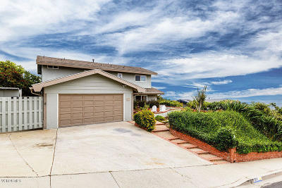 Ventura Single Family Home Active Under Contract: 572 Skyline Road