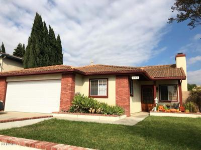 Ventura Single Family Home Active Under Contract: 132 Date Avenue