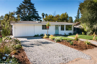 Ojai Single Family Home For Sale: 1190 Forest Avenue