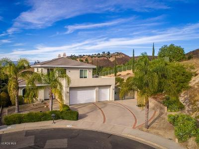 Thousand Oaks Single Family Home For Sale: 2533 Crown View Court