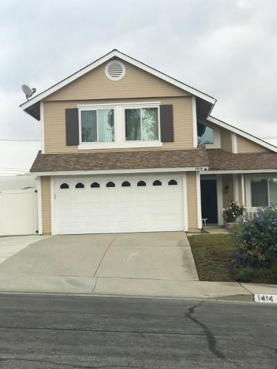 Ventura Single Family Home For Sale: 1414 Fallen Leaf Avenue