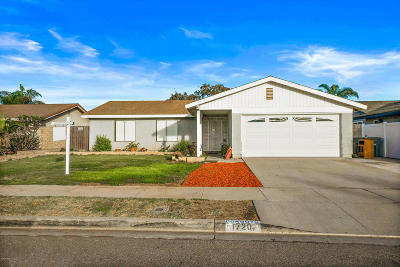 Oxnard Single Family Home For Sale: 1720 Gallatin Place
