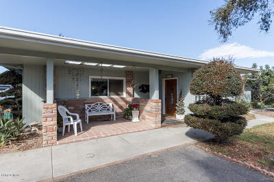 Santa Paula  Single Family Home For Sale: 14859 W Telegraph Road