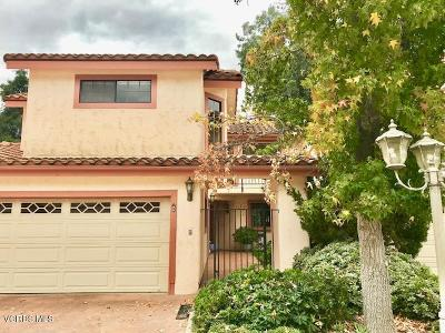 Ojai Single Family Home Active Under Contract: 311 W Summer Street #B