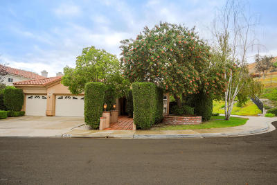Thousand Oaks Single Family Home Active Under Contract: 2275 Fernleaf Court