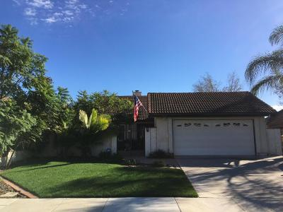 Camarillo Single Family Home Active Under Contract: 5914 Chestnut Place