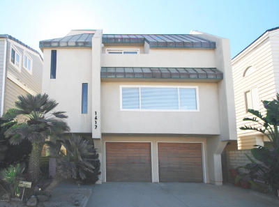 Hollywood By The Sea - 1002582, Silverstrand Beach - 1002702 Single Family Home For Sale: 1617 Ocean Drive
