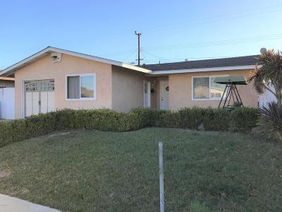 Oxnard Single Family Home For Sale: 150 Everest Street