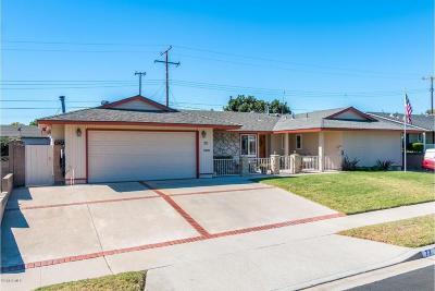 Ventura Single Family Home Active Under Contract: 73 San Mateo Avenue