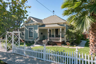 Santa Paula  Single Family Home For Sale: 244 Mill Street