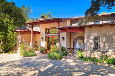 Ojai Single Family Home For Sale: 802 Canada Street