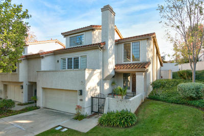 Thousand Oaks Single Family Home Active Under Contract: 393 Maidstone Lane