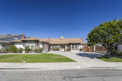 Camarillo Single Family Home Active Under Contract: 236 Bent Twig Avenue