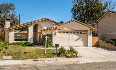 Newbury Park Single Family Home For Sale: 740 Cayo Grande Court