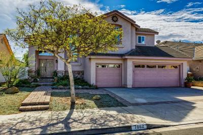 Ventura Single Family Home Active Under Contract: 7862 Hermosa Street