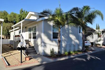Camarillo Mobile Home Active Under Contract: 1150 Ventura Boulevard #2