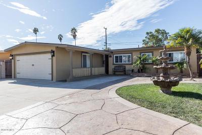 Oxnard Single Family Home Active Under Contract: 1521 Alturas Street