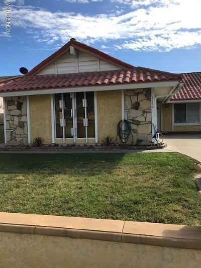 Oxnard Single Family Home For Sale: 1130 Elder Street
