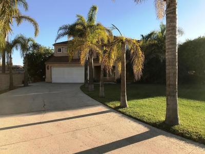 Oxnard Single Family Home For Sale: 2716 Windcrest Place
