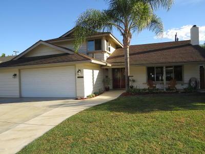 Camarillo Single Family Home For Sale: 1652 Lyndhurst Avenue