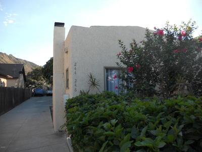 Ventura Multi Family Home For Sale: 242 El Medio Street