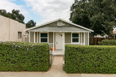 Santa Paula Multi Family Home For Sale: 305 12th Street