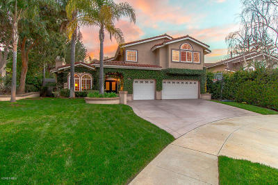 Simi Valley Single Family Home Active Under Contract: 221 Fawn Valley Court