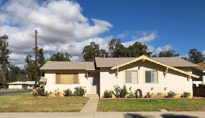 Santa Paula Single Family Home For Sale: 233 Wakeford Street