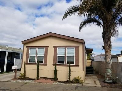 Oxnard Mobile Home For Sale: 3700 Olds Road #30