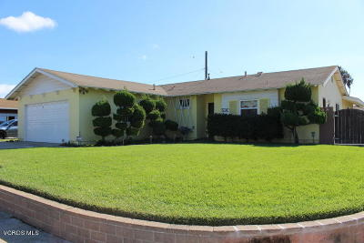 Oxnard Single Family Home For Sale: 530 Vine Place