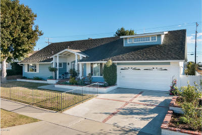 Ventura Single Family Home Active Under Contract: 4428 Hope Street