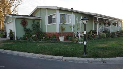 Oxnard Mobile Home For Sale: 2464 Blueberry Drive #132