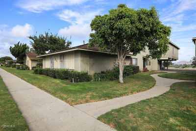 Oxnard Single Family Home Active Under Contract: 2610 El Dorado Avenue #D