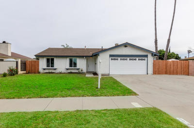 Oxnard Single Family Home For Sale: 2148 Ironbark Drive